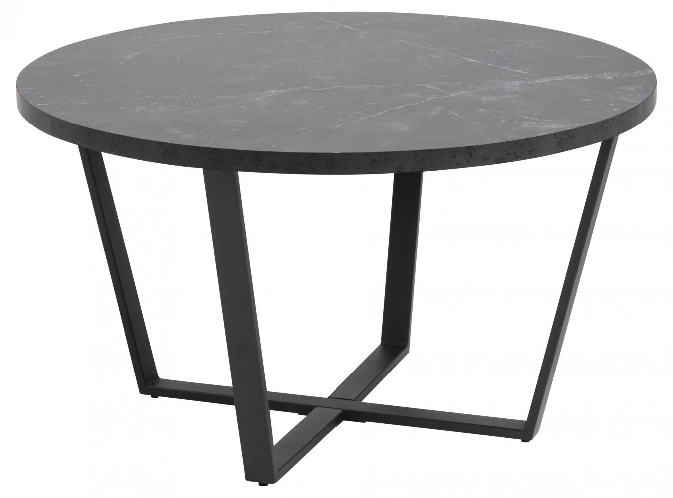 Konferenční stolek Amble, 77 cm, černá