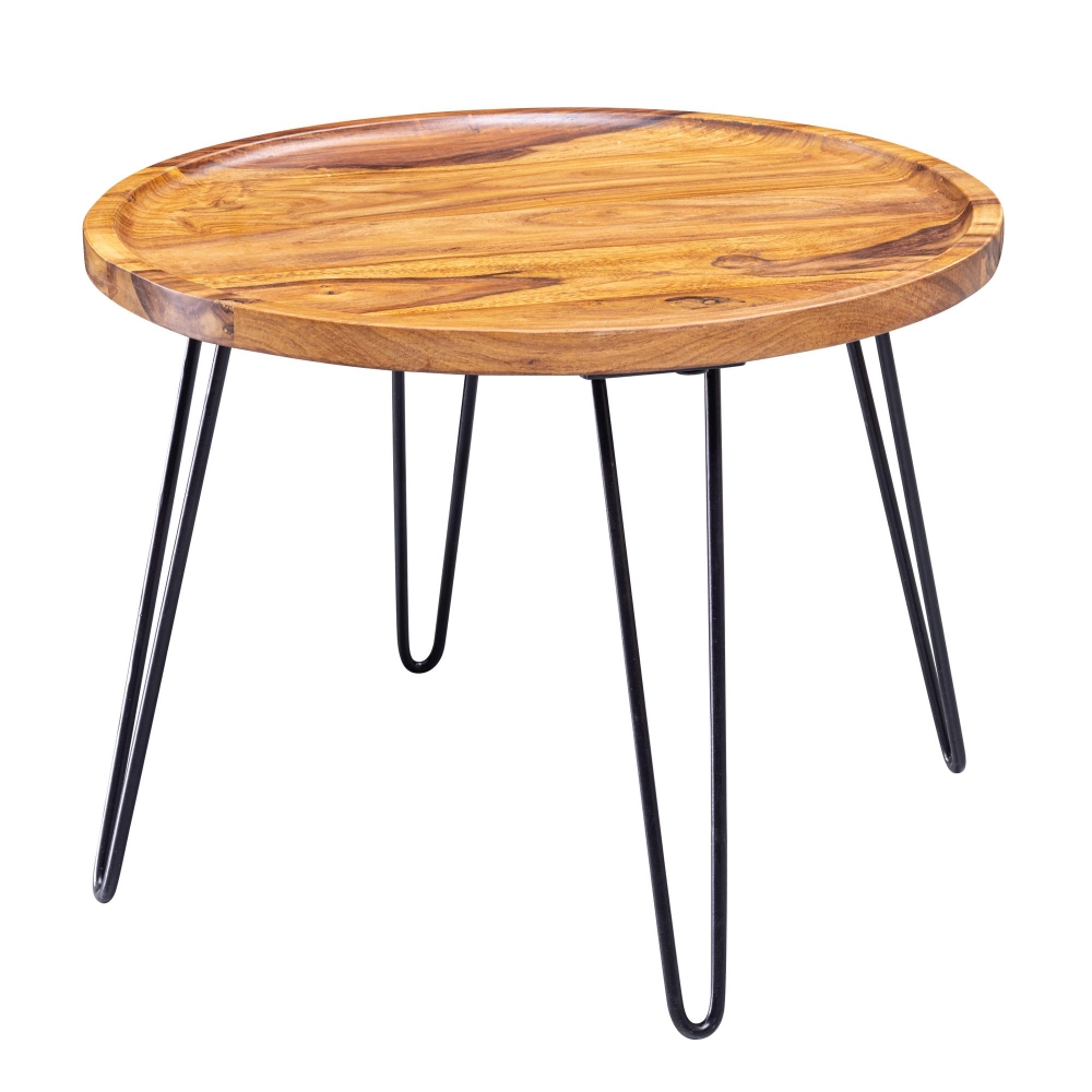 Konferenční stolek Arena, 60 cm, masiv Sheesham
