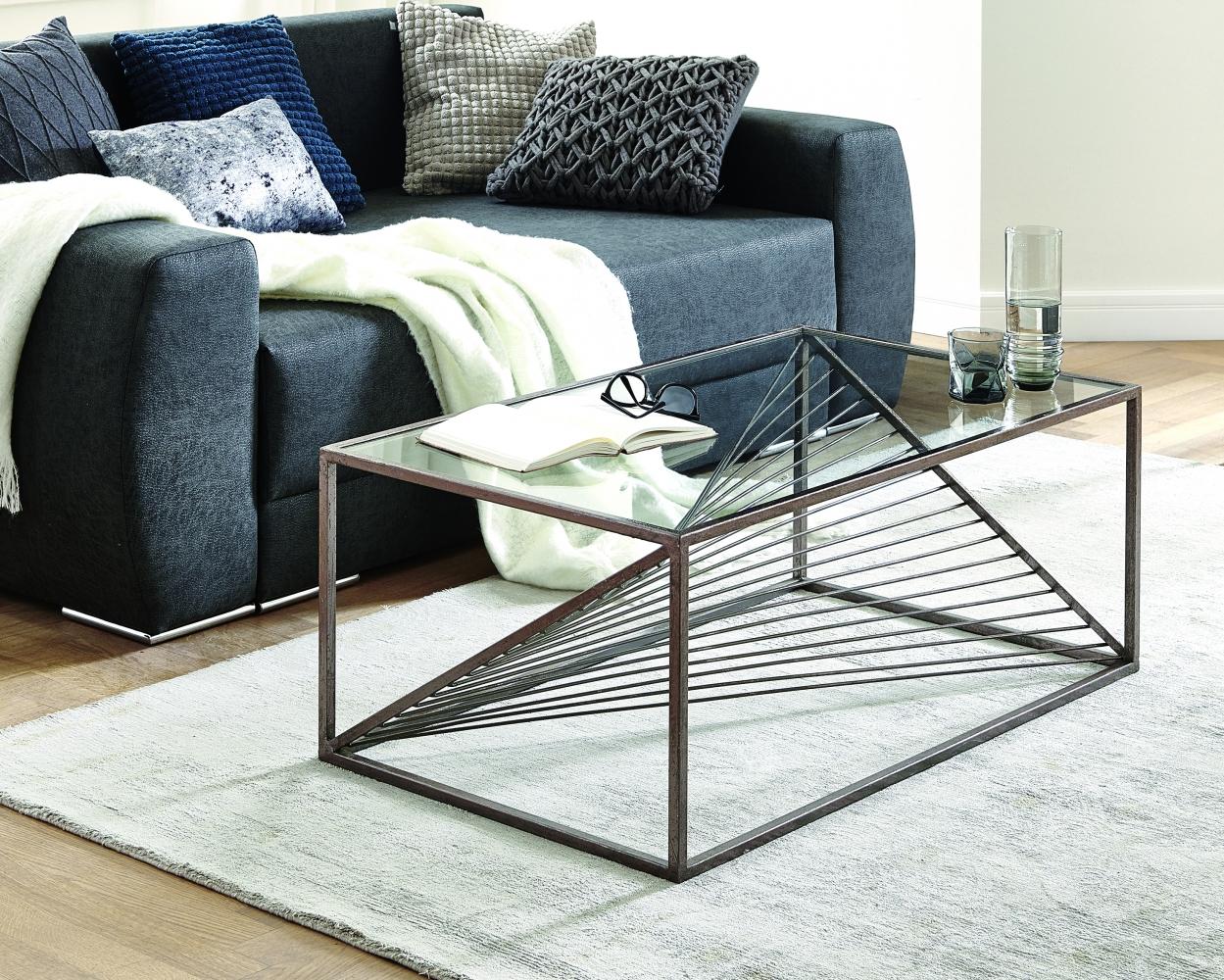 Konferenční stolek Arlet, 100 cm, bronz