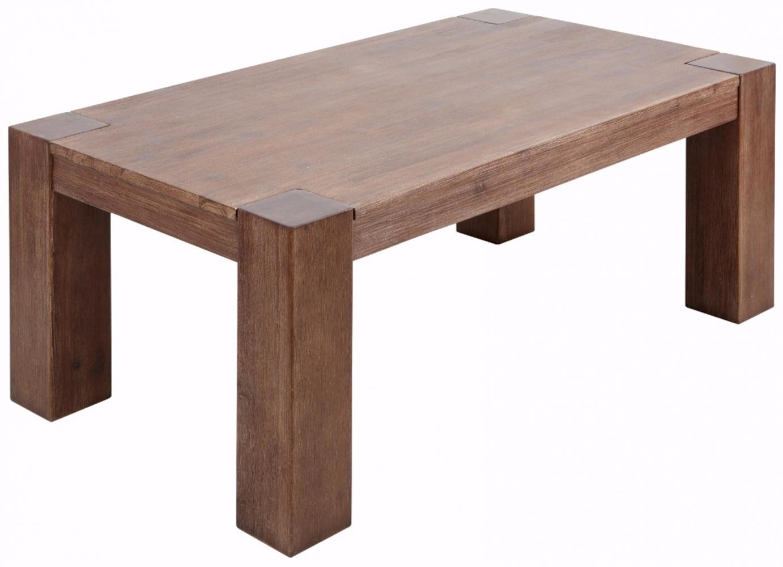 Konferenční stolek Asiha, 120 cm, hnědá