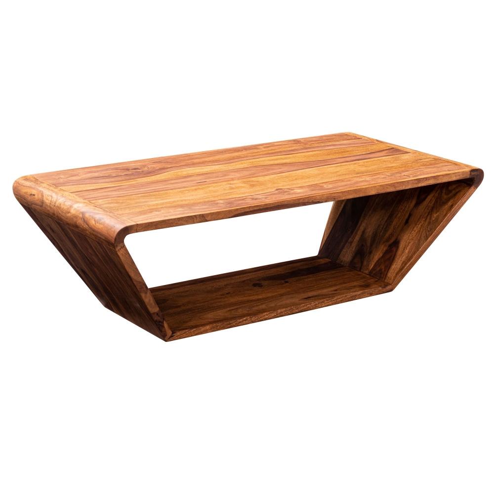 Konferenční stolek Bella, 115 cm, masiv Sheesham