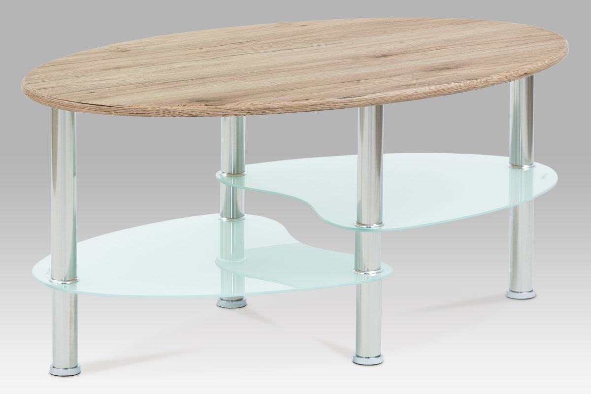 Konferenční stolek Boris, 90 cm, dub