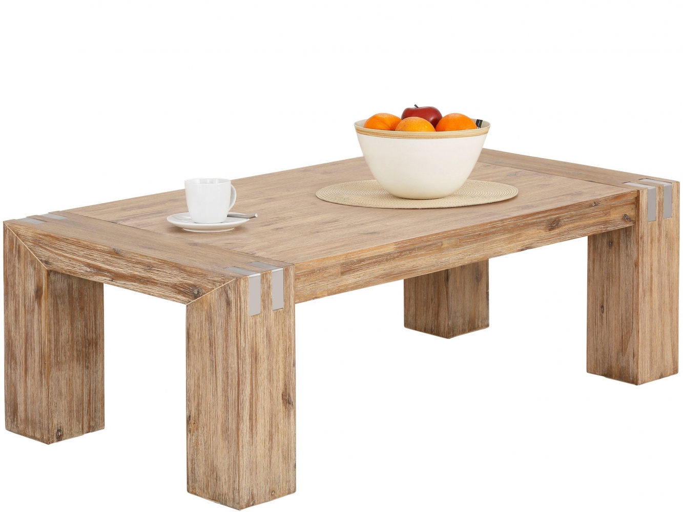 Konferenční stolek Bosan, 130 cm, akát