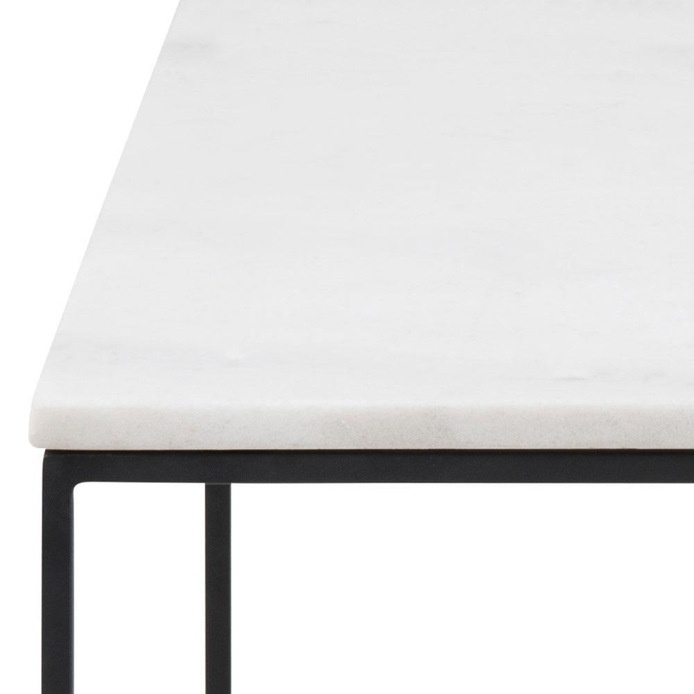 Konferenční stolek Boston, 60 cm, mramor