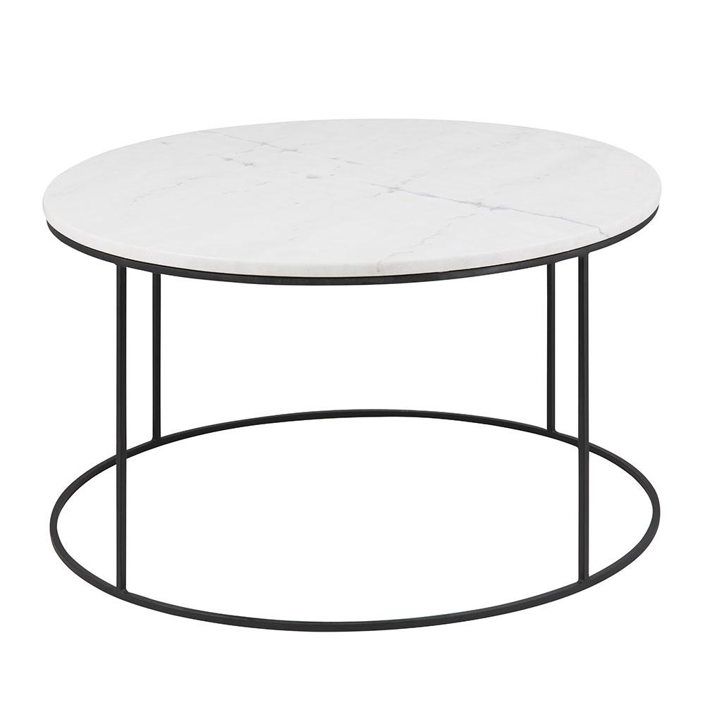 Konferenční stolek Boston, 80 cm, mramor