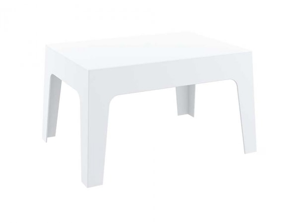Konferenční stolek Chest, 70 cm bílá