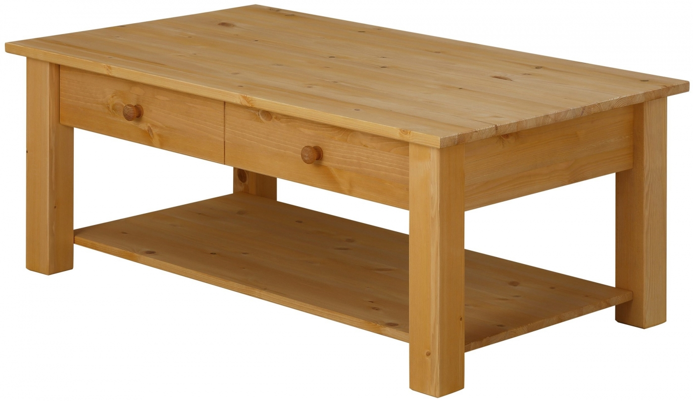 Konferenční stolek Chico, 100 cm, borovice