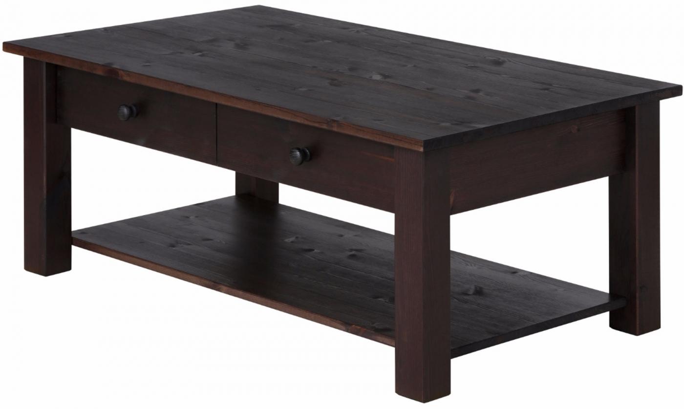 Konferenční stolek Chico, 100 cm, tmavě hnědá