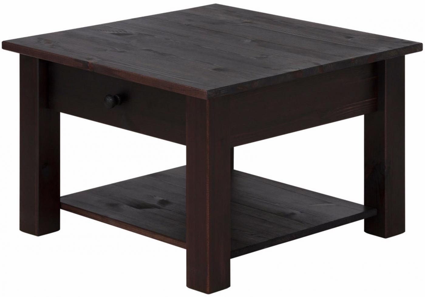 Konferenční stolek Chico, 60 cm, tmavě hnědá