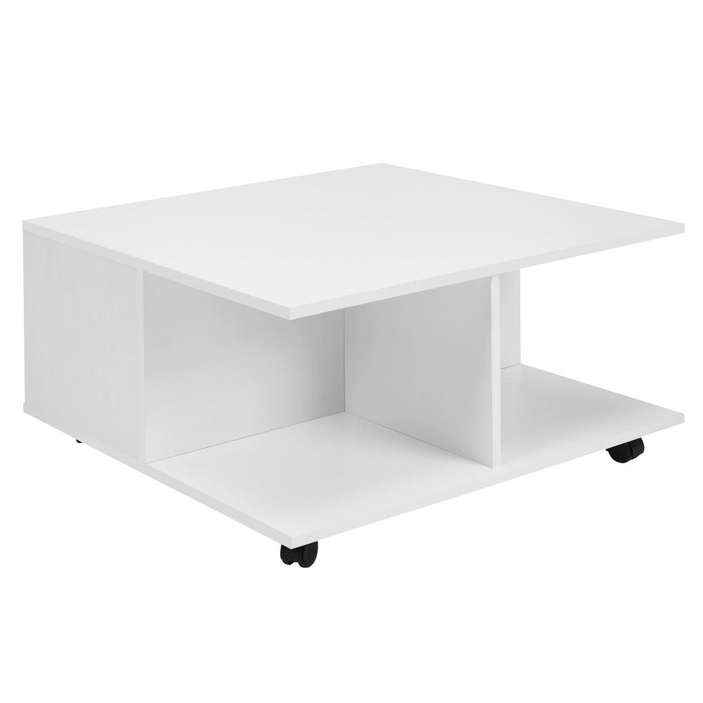 Konferenční stolek Dera, 70 cm, bílá