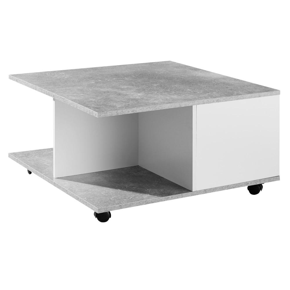 Konferenční stolek Dera, 70 cm, šedá