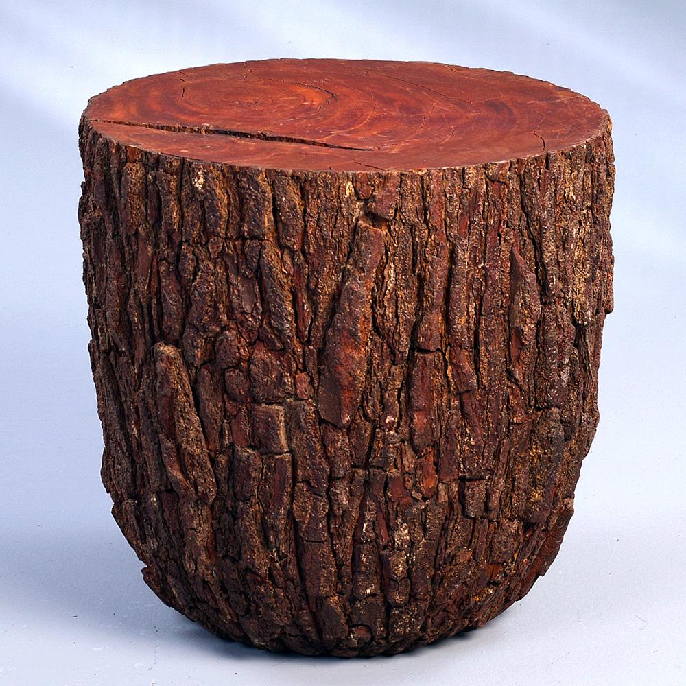 Konferenční stolek Drago, 54 cm, borovice s kůrou