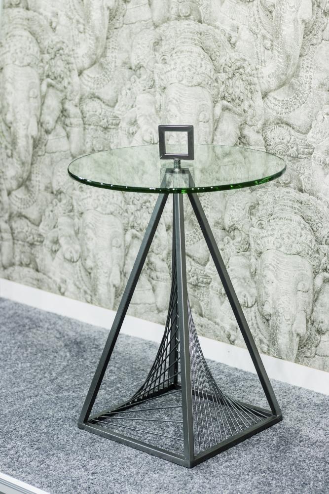 Konferenční stolek Elliot, 57 cm, šedá