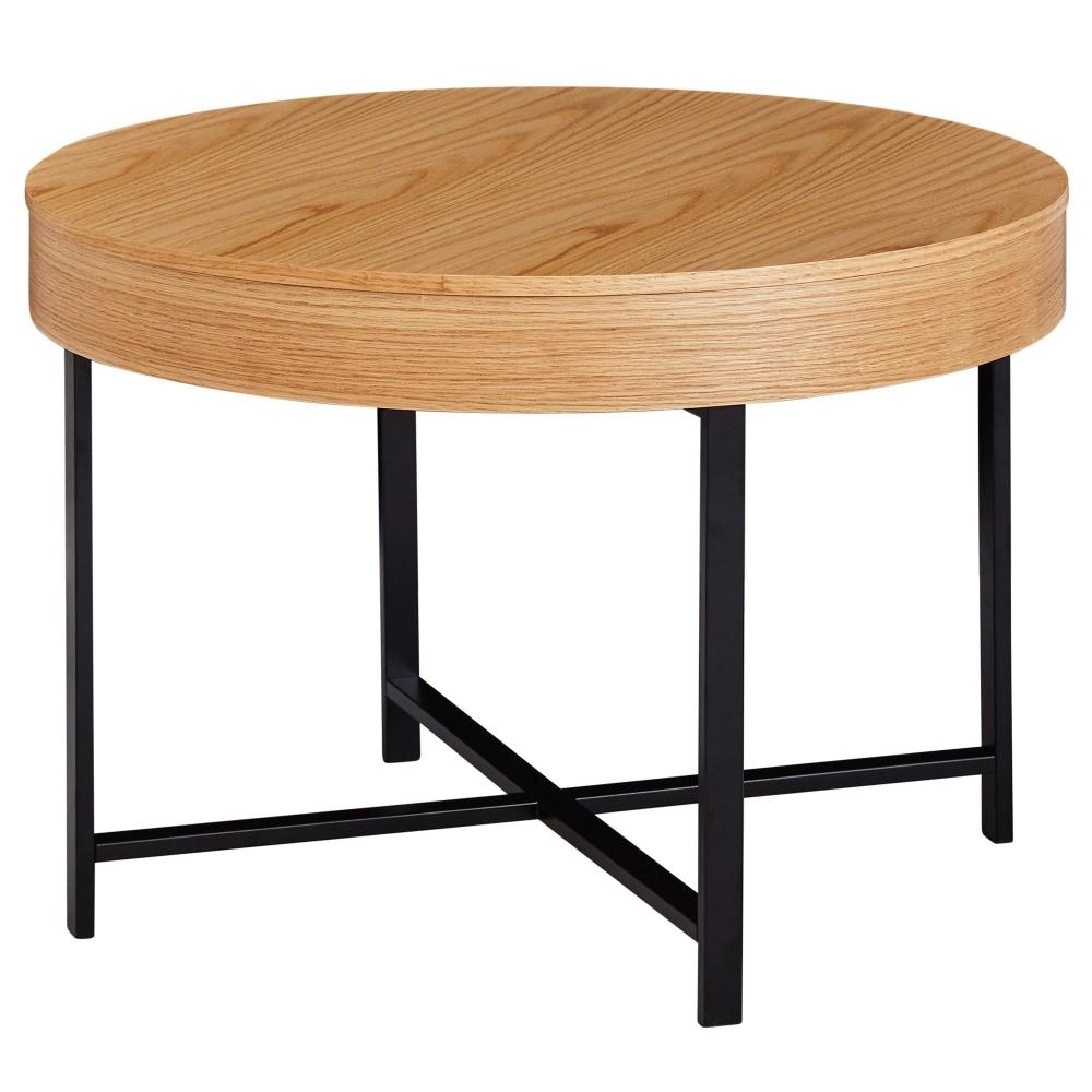 Konferenční stolek Ema, 69 cm, dub