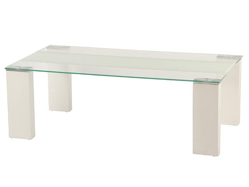 Konferenční stolek Emma, 130 cm, bílá