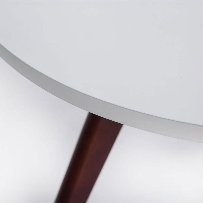 Konferenční stolek Erik, 60 cm, nohy cappuccino