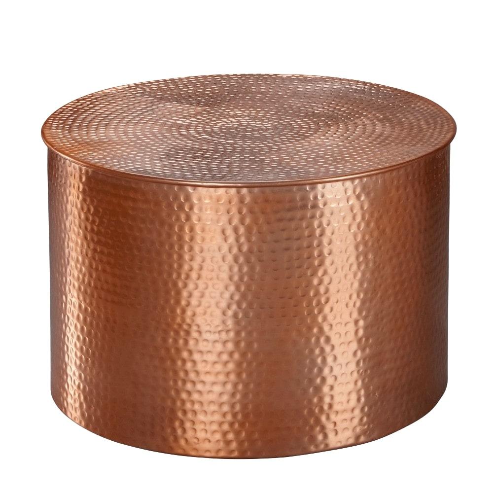 Konferenční stolek Faus, 61 cm, měděná