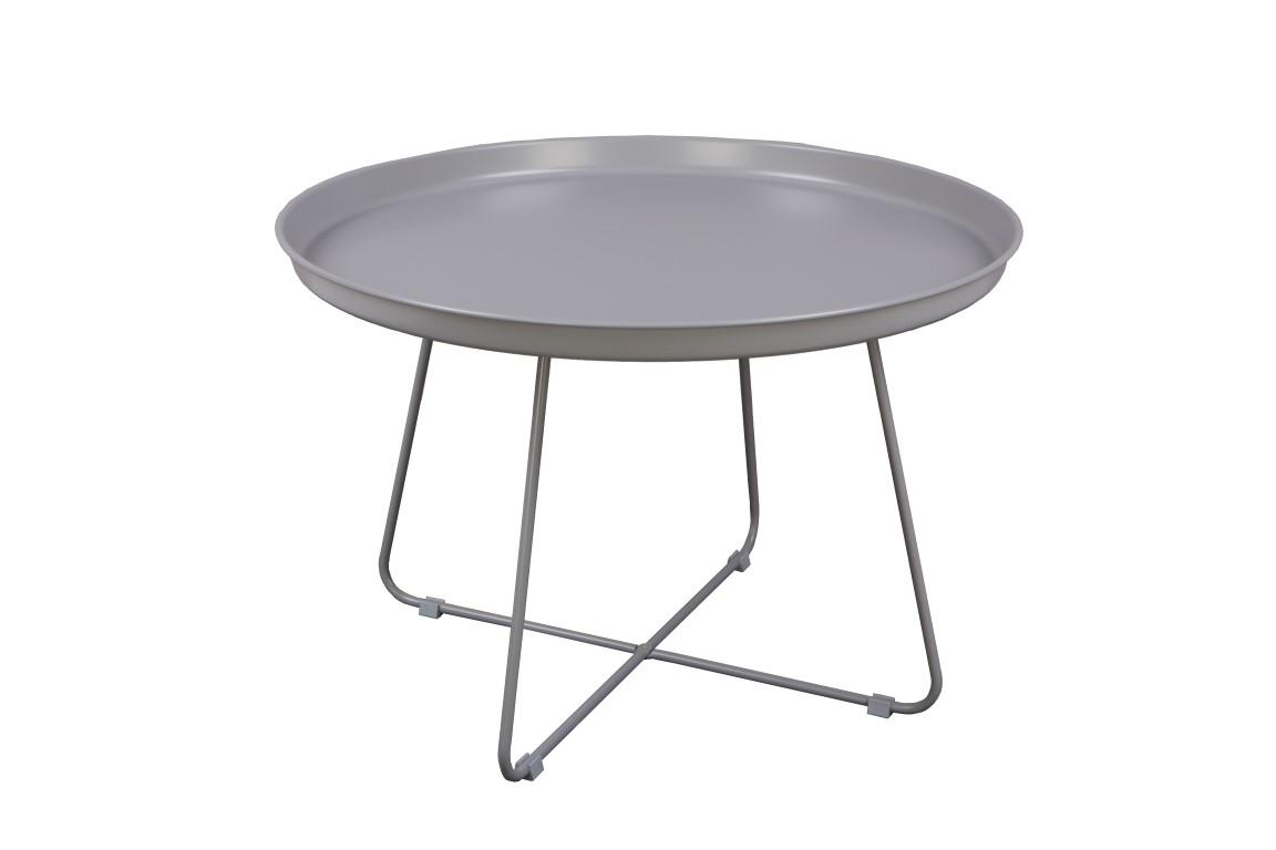 Konferenční stolek Foden, 63 cm, šedá