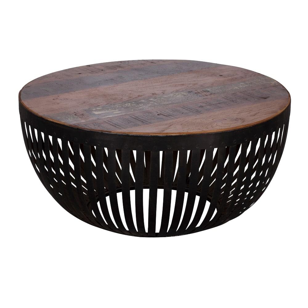 Konferenční stolek Gia, 70 cm, hnědá