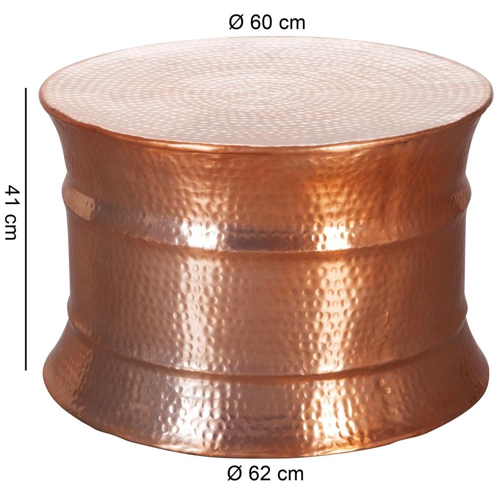 Konferenční stolek Gora, 62 cm, měděná