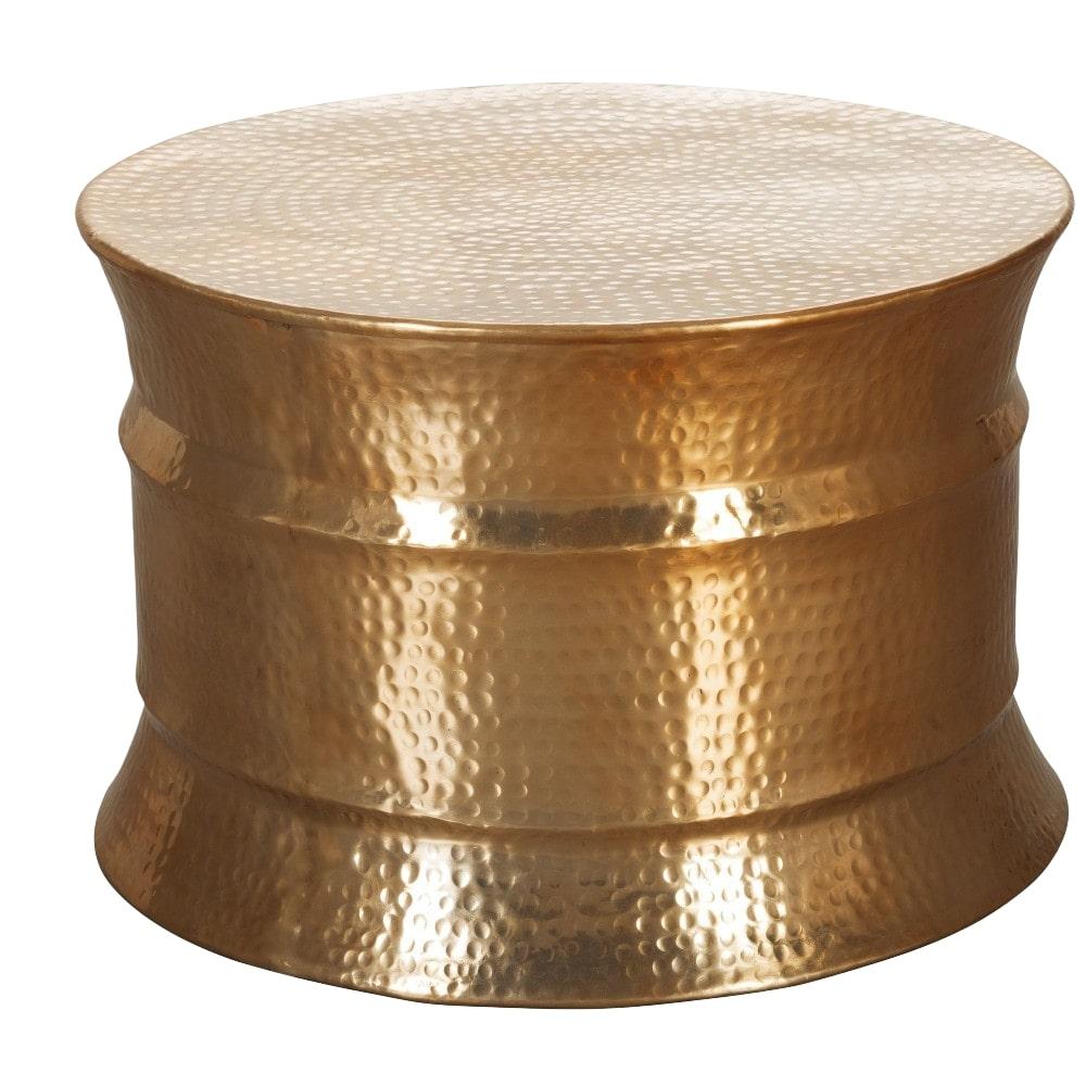 Konferenční stolek Gora, 62 cm, zlatá