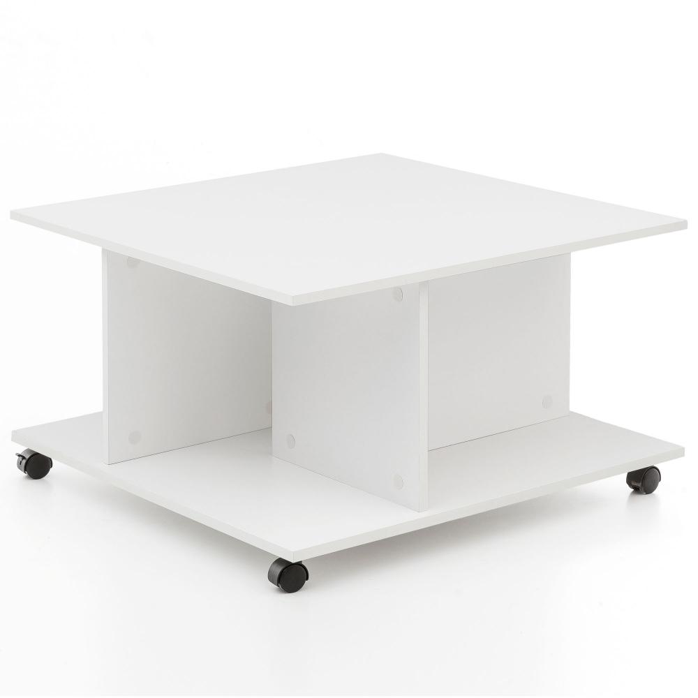 Konferenční stolek Guls, 74 cm, bílá