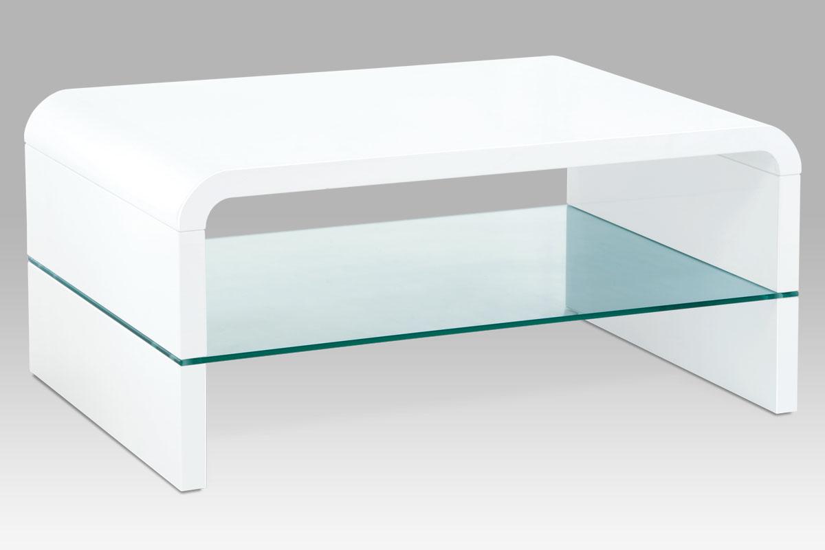 Konferenční stolek Igor, 90 cm, bílá