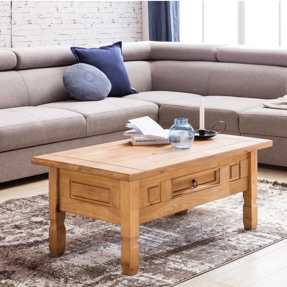 Konferenční stolek Jairo, 100 cm, borovice