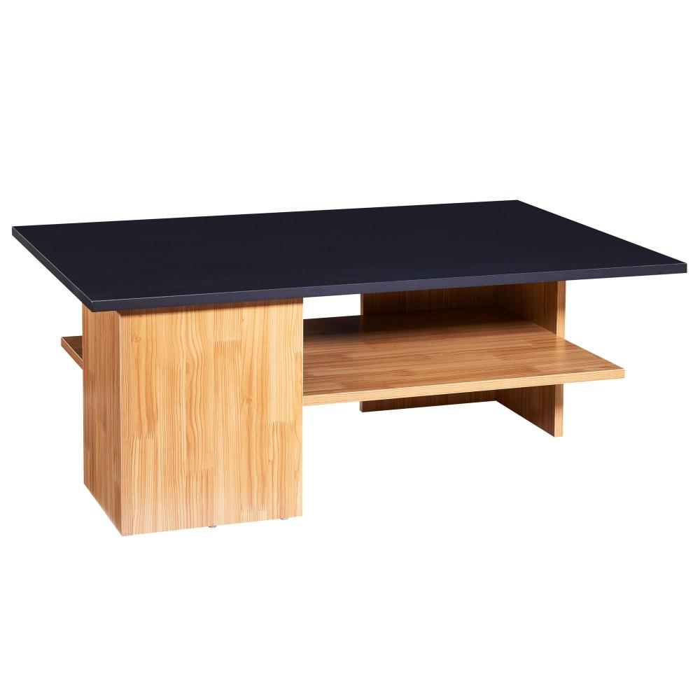 Konferenční stolek Jelly, 90 cm, černá