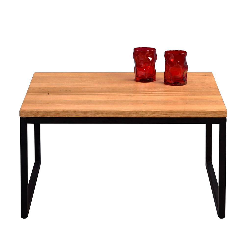 Konferenční stolek Jessica nízký, 60 cm, masiv divoký dub
