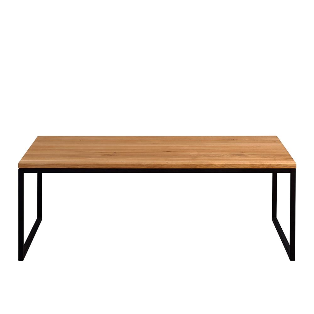Konferenční stolek Jessica vysoký, 110 cm, masiv divoký dub