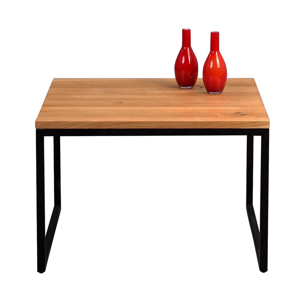 Konferenční stolek Jessica vysoký, 60 cm, masiv divoký dub