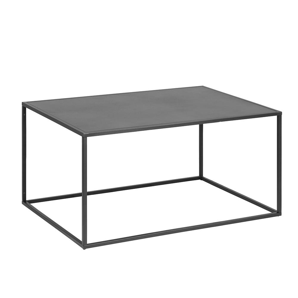 Konferenční stolek kovový Lyfte 2, 90 cm, černá