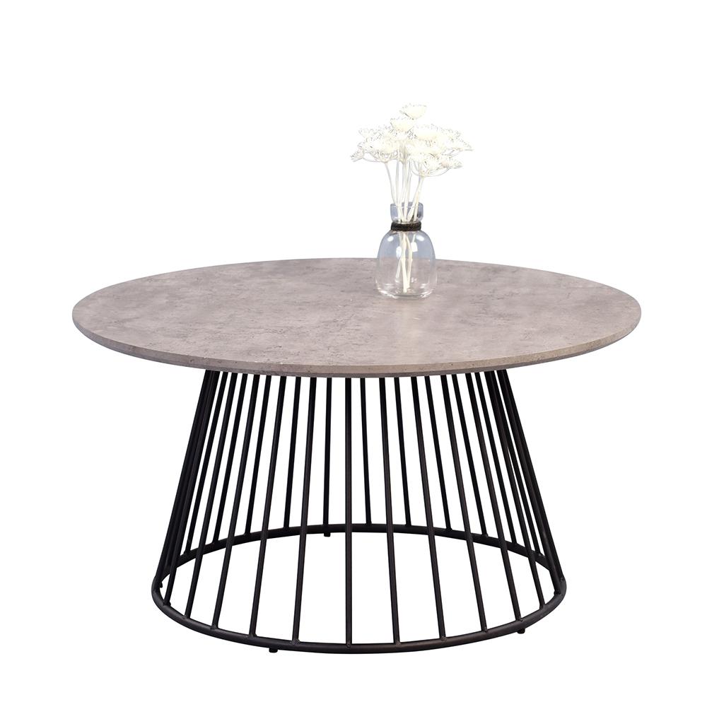 Konferenční stolek kulatý Brenda, 80 cm