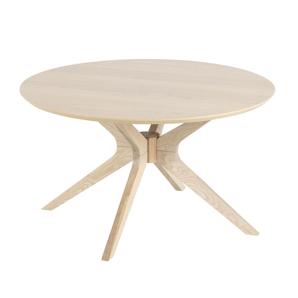 Konferenční stolek kulatý Eden, 80 cm, dub