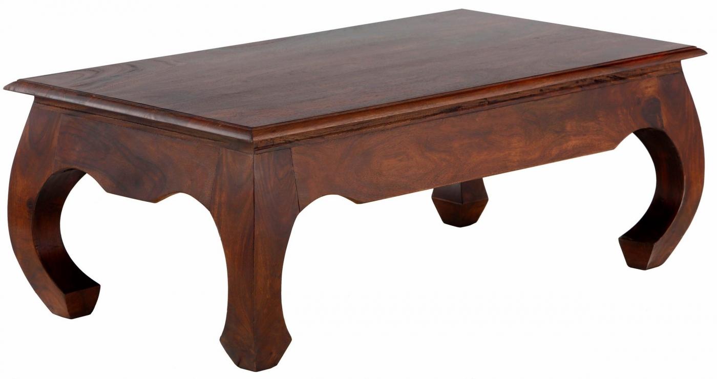 Konferenční stolek Kusa, 110 cm, masivní akát
