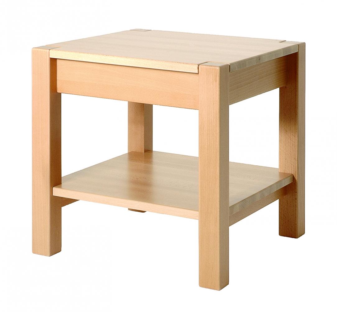 Konferenční stolek Lendon, 43 cm, buk