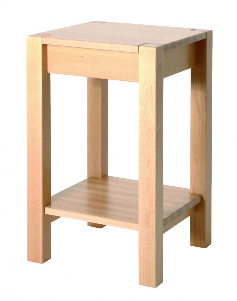 Konferenční stolek Lendon, 60 cm, buk