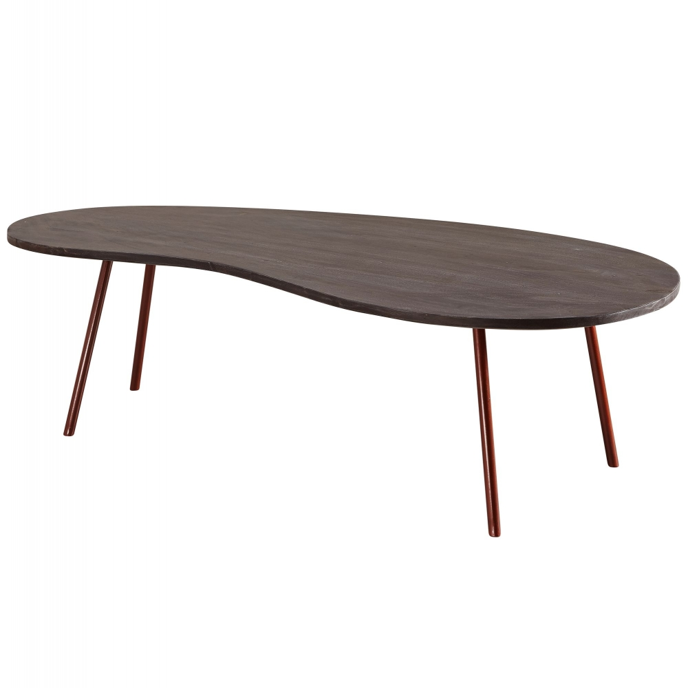 Konferenční stolek Lenny, 122 cm, masiv akát