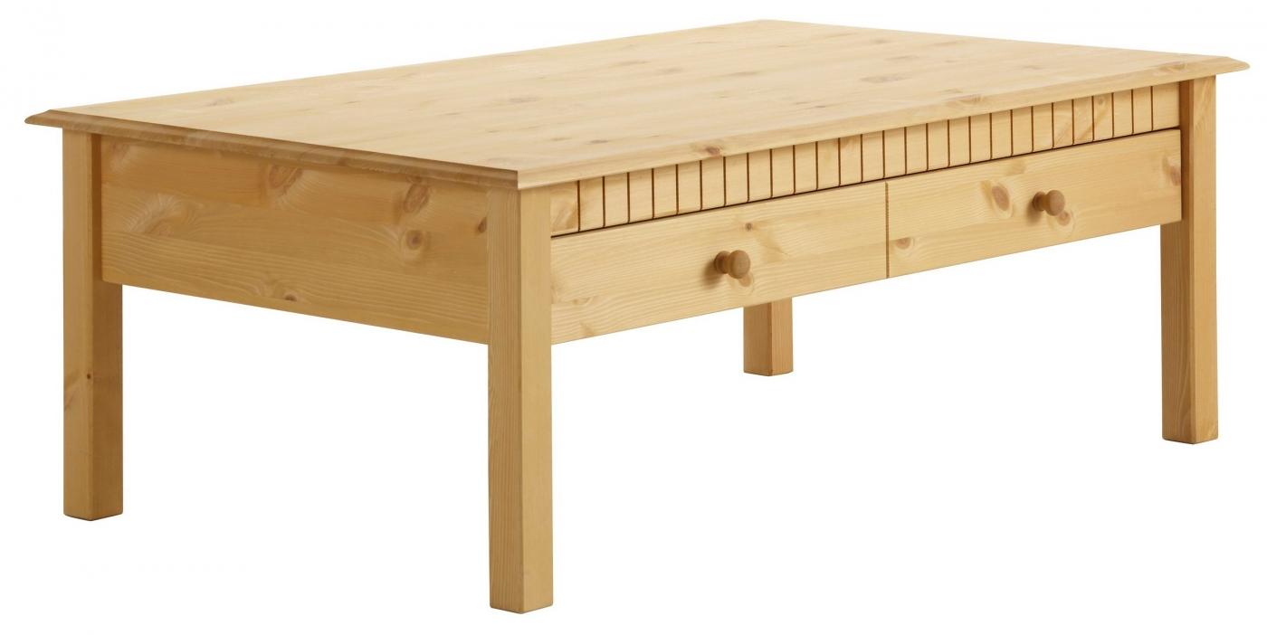 Konferenční stolek Linde, 110 cm, borovice