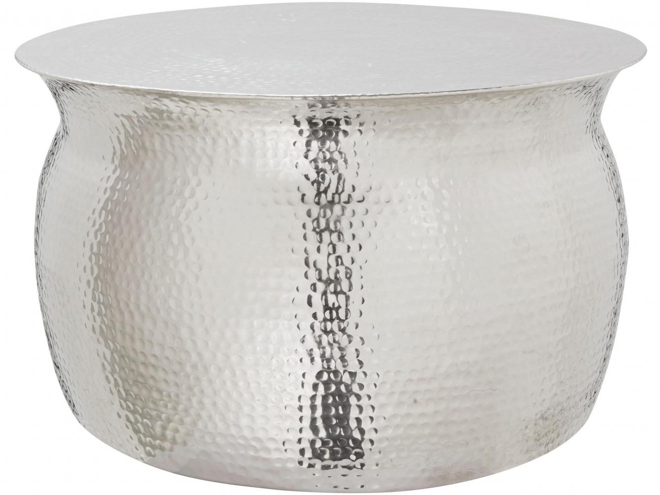Konferenční stolek Lori, 79 cm, stříbrná