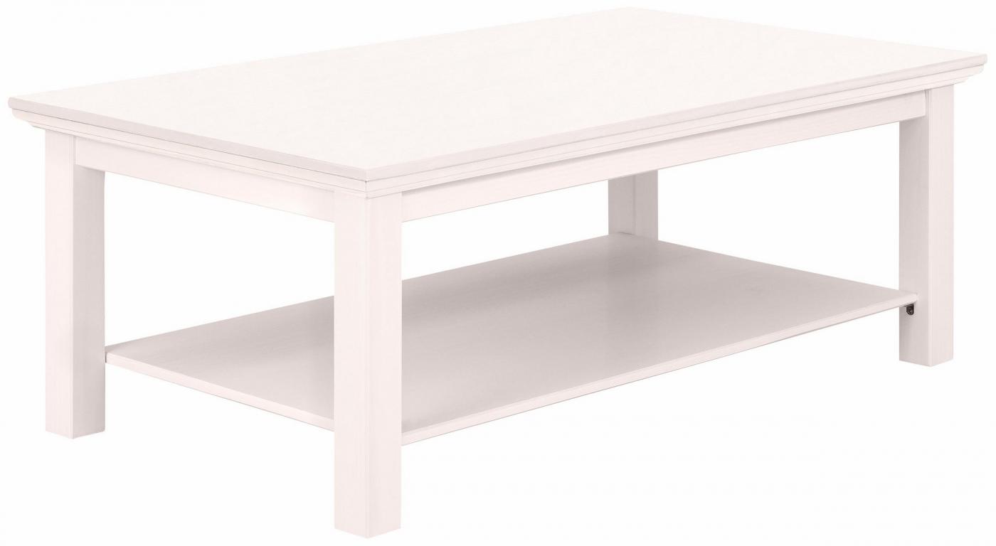 Konferenční stolek Meliss, 120 cm, bílá