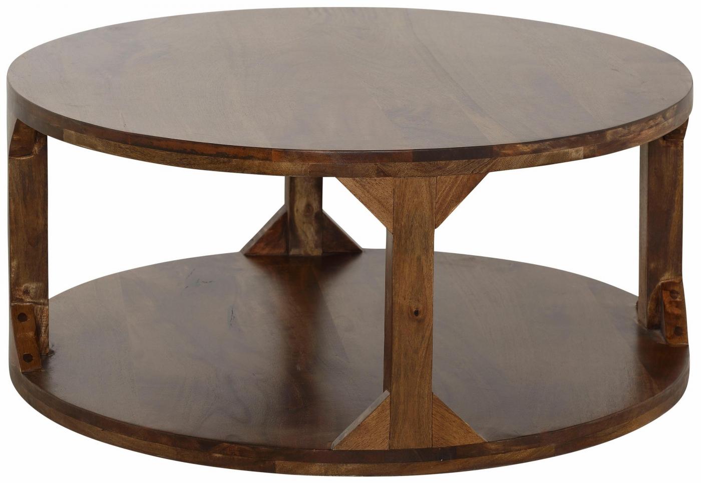 Konferenční stolek Misa, 90 cm, masivní mango