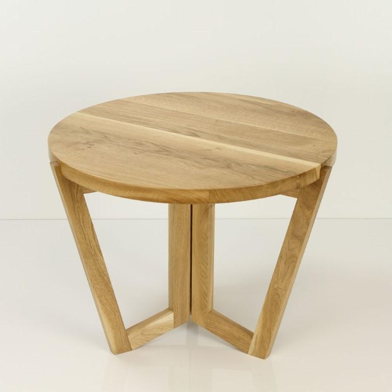 Konferenční stolek Mollen, 60 cm, dub