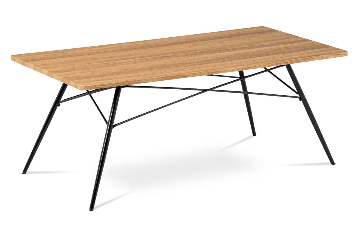 Konferenční stolek Moritz, 122 cm, divoký dub
