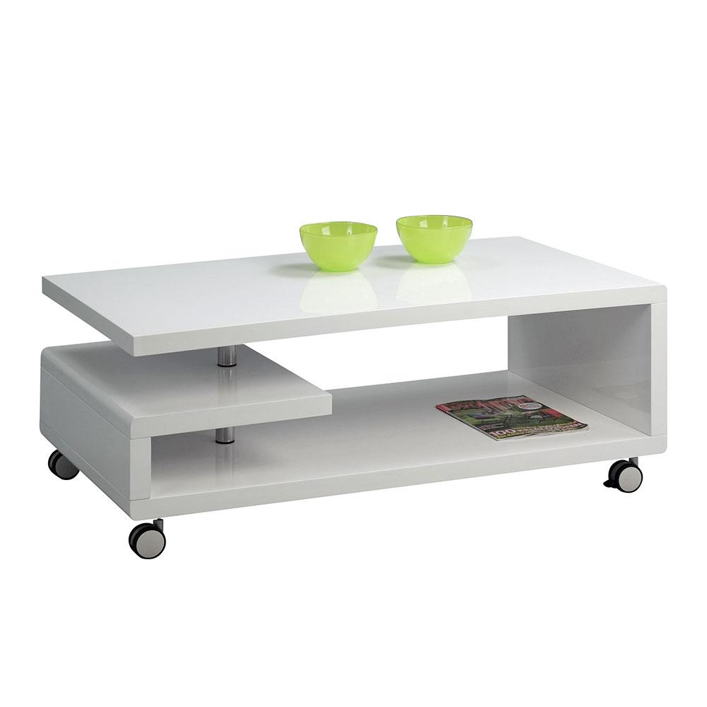 Konferenční stolek na kolečkách Tino, 115 cm