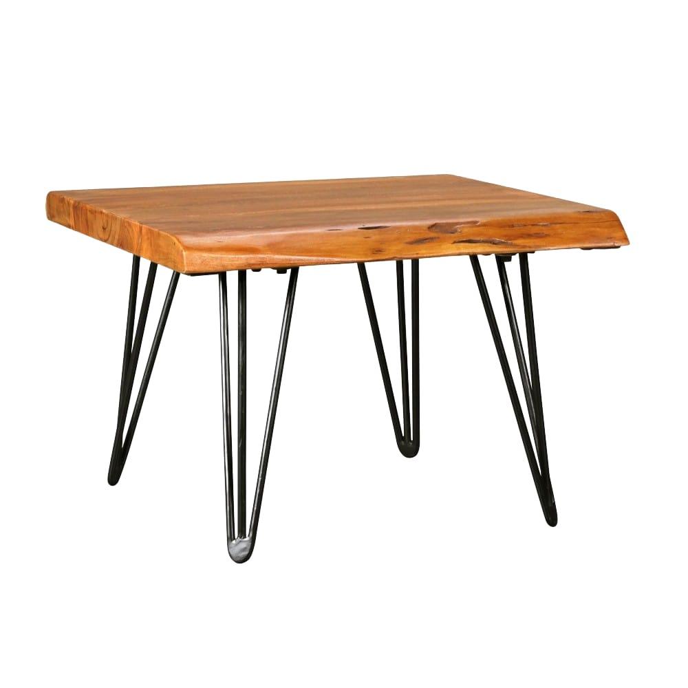 Konferenční stolek Nare, 56 cm, masiv Sheesham