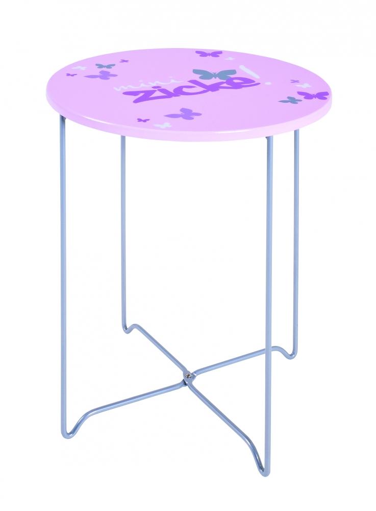 Konferenční stolek Nash I., 51 cm, růžová