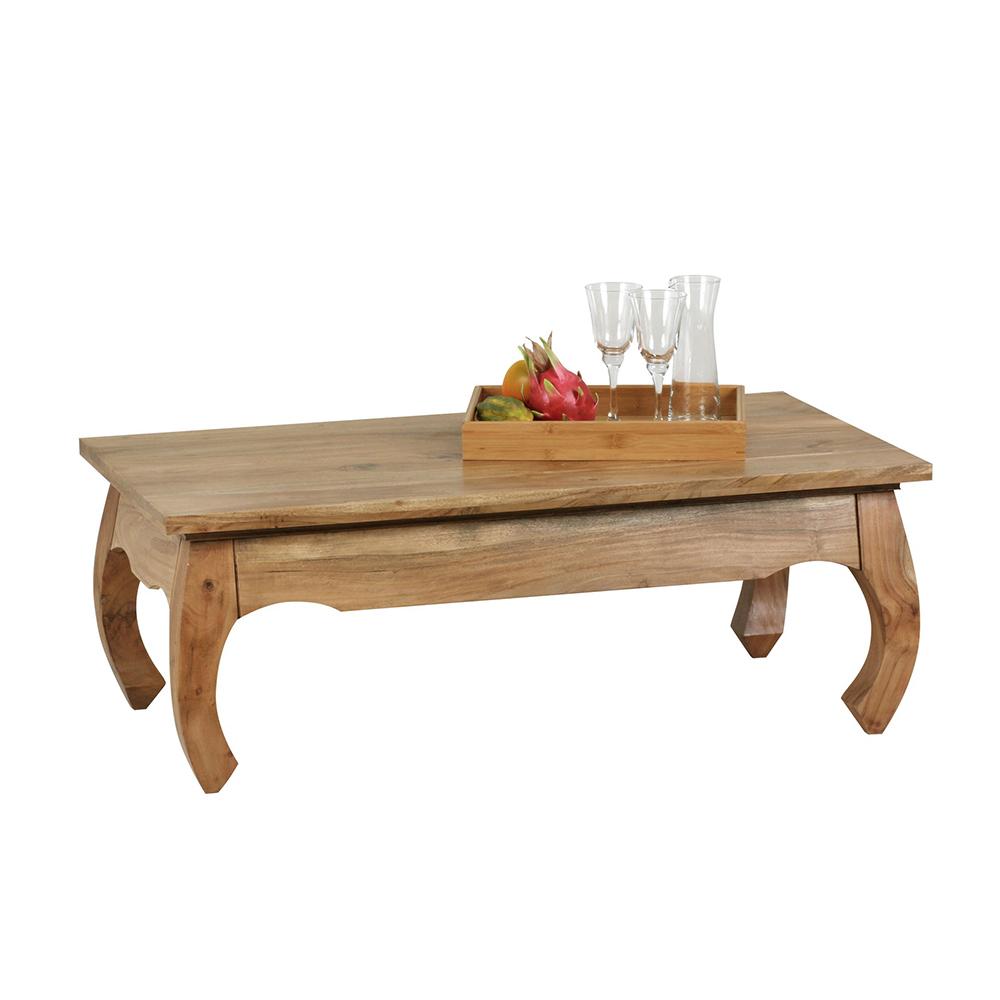 Konferenční stolek Opium, 110 cm, masiv akát