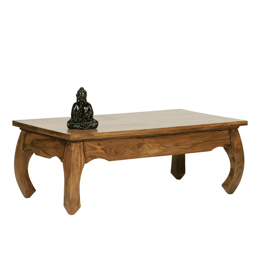Konferenční stolek Opium, 110 cm, masiv Sheesham